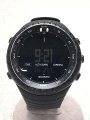 CORE/クォーツ腕時計/デジタル/BLK/BLK