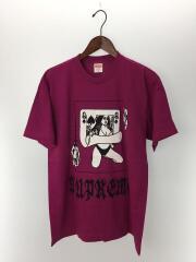 Tシャツ/M/コットン/PNK/ピンク/19AW/Queen Tee Magenta