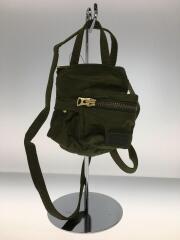 19AW/Porter Edition/Pocket Bag Small/ナイロン/カーキ