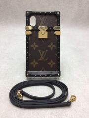 アイ・トランク ライト iPhone X & XS_モノグラムキャンバス/PVC/BRW