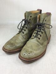 ブーツ/--/KHK/レザー/12508