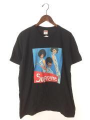 Tシャツ/M/コットン/BLK/プリント