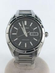 自動巻腕時計/セイコー/4R36-00A0/アナログ/ステンレス/BLK/SLV