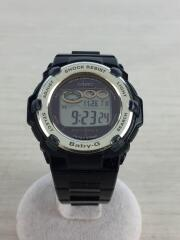 腕時計・Baby-G/デジタル/BLK