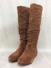ABILENE BOOTS/1947/ロングブーツ/26cm/BRW/スウェード/