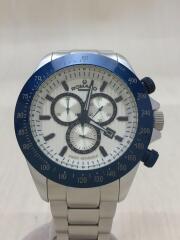 クォーツ腕時計/RM050-0405AL/アナログ/ステンレス/BLK/SLV/箱付属/