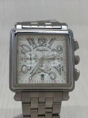 roberta viviani/クォーツ腕時計/アナログ/ステンレス/SLV/クロノグラフ/MADE IN I