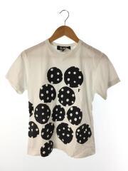 18SS/Tシャツ/S/コットン/WHT/1A-T006