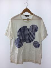 Tシャツ/S/コットン/WHT