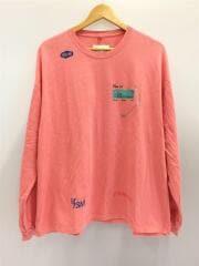 BELL-T/長袖Tシャツ/コットン/ピンク/