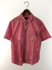 オープンカラーシャツ/ピンク/M/ハイヒール柄/good from any angle shirt