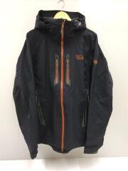 Snowtastic Jacket/マウンテンパーカ/L/ナイロン/ブラック/OM4825
