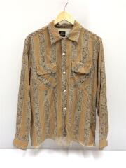 18SS/Classic Shirt-Tencel Cloth/長袖シャツ/M/キャメル/CH149