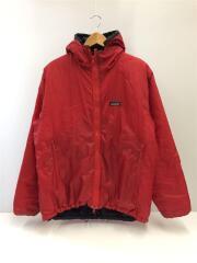 ブルゾン/M/ナイロン/RED/83970/パフボールセーター