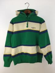 19AW/Classic Logo Stripe Hooded Sweatshirt/パーカー/S/コットン/GRN