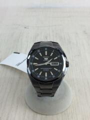 自動巻き腕時計/アナログ/ステンレス/BLK/GRY/7S36-02A0