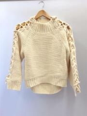 セーター(厚手)/--/アクリル/WHT/ホワイト/02920120160