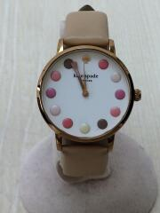 Metro Makeup Pallete(メトロメイクアップパレット)/クォーツ腕時計/ケイトスペード