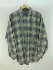 70s(70年代) ウールチェックシャツ/M/BLU/ペンドルトン ヴィンテージ