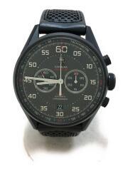 自動巻腕時計・カレラキャリバー36クロノグラフ/アナログ/BLK/クロノグラフ carrera RED BULL RACING レッドブル