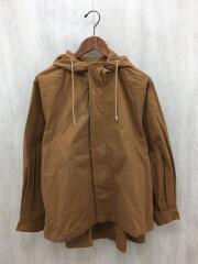 OMNES/ダンプ裾フレアマウンテンジャケット/FREE/コットン/CML/1519-7018