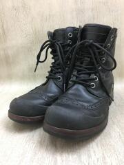 BRANTON/ブラントン/ブーツ/27cm/BLK/レザー/1001571