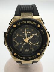 ソーラー腕時計・G-SHOCK/デジアナ/ラバー/BLK/BLK/電波   GST-W300G-1A9JF