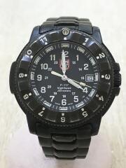 ナイトホーク/エヴォリューション/クォーツ腕時計/アナログ/ステンレス/BLK/F-117