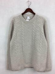 WOOL TURTLE SWEATER/セーター(厚手)/XL/ウール/IVO/273409/584RJ