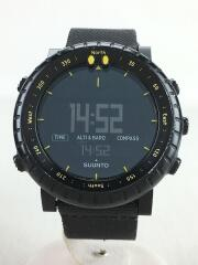 SUUNTO CORE/BLACK YELLOW/デジタル/BLK/BLK