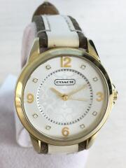 ミニシグネチャー/CA.13.7.34.0648/クォーツ腕時計/アナログ/レザー/ベルト劣化