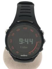 5175A-12311/クォーツ腕時計/デジタル/ラバー/BLK/BLK