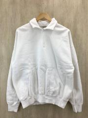 ×5525gallery/18AW H/ZIP SWEAT/5/コットン/WHT
