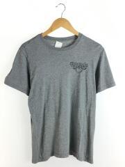Tシャツ/S/コットン/グレー/
