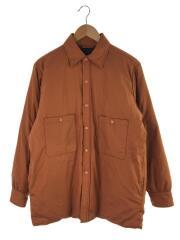 ダウンジャケット/M/コットン/オレンジ/×キャプテンサンシャイン/×ビームス/ダウンシャツ/スナップ