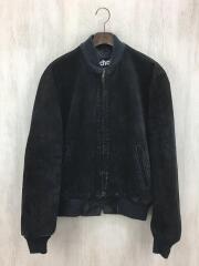 レザージャケット・ブルゾン/40/スウェード/ブラック