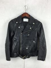 ダブルライダースジャケット/--/羊革/ブラック/ビンテージレザージャケット/15年モデル/