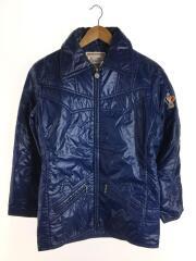 ナイロンジャケット/L/ナイロン/ブルー/スキーウェア/ヴィンテージ/SKI WEAR/80s~/ロゴワッヘ