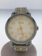 クォーツ腕時計/アナログ/ステンレス/IVO/マルチカラー