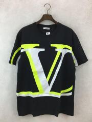 Tシャツ/XXL/コットン/BLK