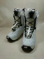 スノーボードブーツ/23cm/クイックレーシング/WHT