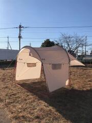 フロントポーチ サハラ/W3001381 テント/ドーム/4~6人用/BRW