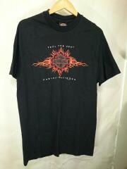 Tシャツ/XL/コットン/BLK/無地