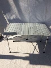 170A5923 イージーロール2ステージテーブル6 170A5923/2~3人用/SLV