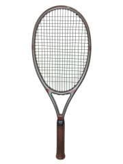 TX-9 テニスラケット/軟式ラケット/GRY/ヘッド/補修跡有