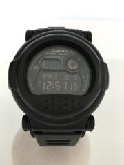 G-SHOCK/ジーショック/クォーツ腕時計/アナログ/ラバー/BLK/BLK/G-001