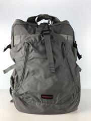 ×ATHLONIA TRANSITION BAG/39L/バックパック/PVC/GRY/無地/サイトホツレ有