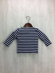 バスクシャツ/ウエッソン/カットソー/--/コットン/NVY/ボーダー