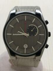 クォーツ腕時計/アナログ/ステンレス/GRY/SLV/853XLSBB