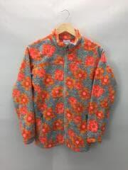 フリースジャケット/155cm/ポリエステル/GRY/総柄/タグ付TP16R0078320110